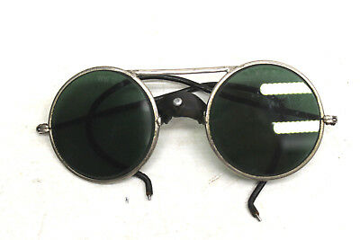 $150.41 • Buy V. Rare Vintage Willson WW3 Aviator Steam Punk Goggles Safety Sunglasses Green