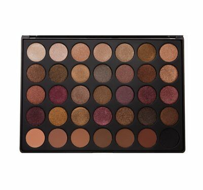 AU23.99 • Buy 35f Eyeshadow Palette  35 Color 35f Morphe Brushes Shadow Nature Glow