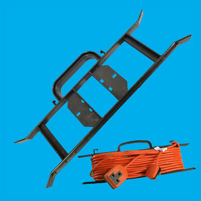 H-Frame Cable Tidy, Extension Wire Reel, Power Lead Holder, Rope Carrier Winder • 2.99£