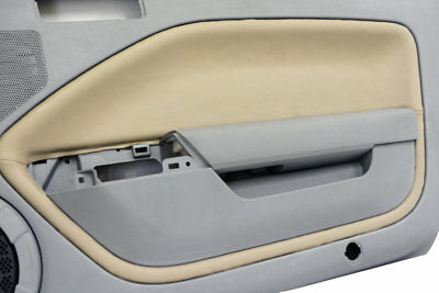 $29.99 • Buy  Fits Ford Mustang 05-09 Door Panel Insert Cards Faux Leather Beige