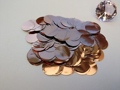Rose Gold Confetti Wedding Balloons Sprinkle Table Decorations Metallic Baby Hen • 7.49£
