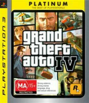 AU14.95 • Buy GTA Grand Theft Auto 4 IV PS3 Game USED