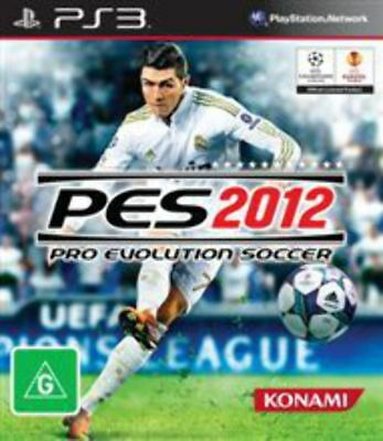 AU12.95 • Buy Pro Evolution Soccer 2012 PS3 Game USED