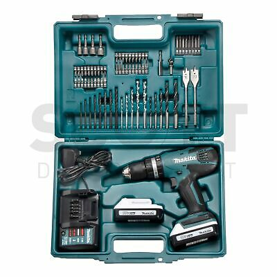 Makita HP457DWE10 18V Li-ion G Series Cordless Combi Drill 2 X 1.5 Ah Batteries • 139.99£