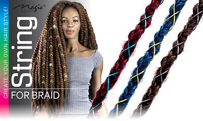 $6.99 • Buy Magic String Box Braids Hair Accessories Braiding Hair Deco Styling Thin Shimmer