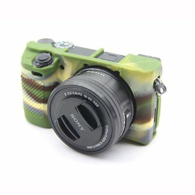 $ CDN16.31 • Buy For Sony A6300 Camera Case Soft Strong Silicone Cover Skin Anti-skid Design