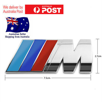 AU9.45 • Buy BMW Car Chrome Badge 3D Self-adhesive Boot Premium Logo Emblem M3 M5 X3 X5 E M