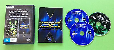 AU26.95 • Buy The Command & Conquer Saga For PC