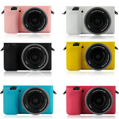 $ CDN15.61 • Buy For Sony A6000 Case Cover Skin Made Of Flexible Strong Soft Silicone Gel Rubber