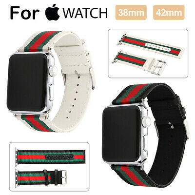 AU15.99 • Buy Sport Nylon Apple Watch Band Series SE 6 5 4 3 2 1 IWatch Band Strap 40 44mm 42