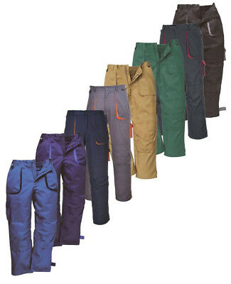 £15.85 • Buy PORTWEST Texo Contrast Trouser Knee Pad Pockets Multi Pockets Safety TX11