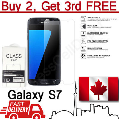 $ CDN3.49 • Buy Premium Case Friendly Tempered Glass Screen Protector For Samsung Galaxy S7