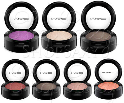 MAC COSMETICS EYESHADOW NEW IN BOX 100% AUTHENTIC CHOOSE COLOR 1.5 G / .05 Oz • 12.75£