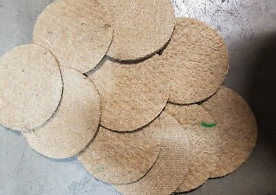 £11.99 • Buy Canary Nesting Pan Jute Felts X20 Finches Canaries Linnet Breeding 5 Inch Round