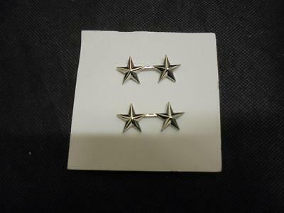 Pair Of US Air Force/Army Military Major Generals Collar Badges / Insignia • 6.99£