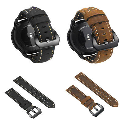 AU17.69 • Buy Genuine Leather Band Wrist Strap Panerrai For Samsung Gear S3 Classic / Frontier