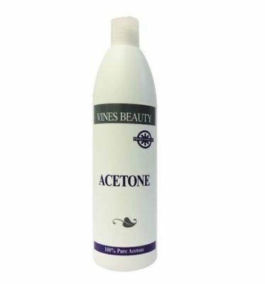 £7.99 • Buy Vines Beauty 100% Pure Acetone Nail Remover For Artifical Nail500ml