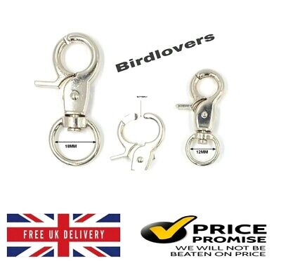 £2.29 • Buy Butterfly Lobster Clasps Trigger Swivel Clip Snap Hooks Strapping Dog Leads Etc