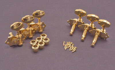 $ CDN41.80 • Buy Gold Acoustic Guitar Tuner Set - Waverly Style - Butterbean Knobs