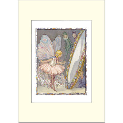 Looking-glass Fairy - Margaret Tarrant - Medici Mounted Print • 21£