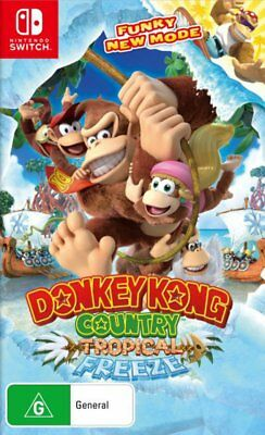 AU74.95 • Buy Donkey Kong Country Tropical Freeze Switch Game NEW