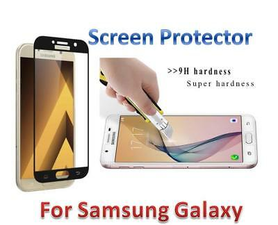 AU7.90 • Buy Full Tempered Glass Screen Protector For Samsung Galaxy A5 A7 2017 J2 J5 J7 Pro