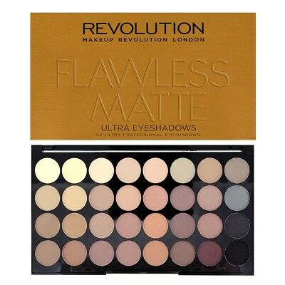 AU21.65 • Buy Makeup Revolution Eyeshadow Palette Flawless Matte New Sealed