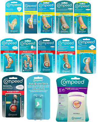Compeed Plasters, Patches, Moisturising Corn, Stick, Foot Cream • 6.65£