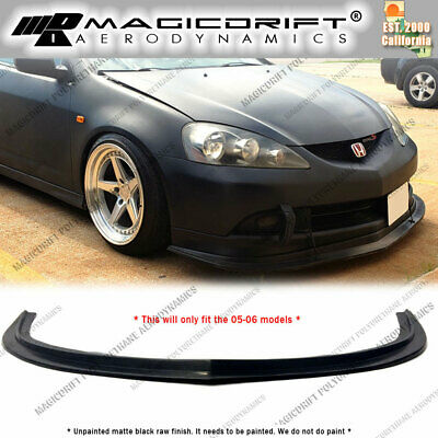 $92 • Buy For 2005 2006 Acura RSX MDA Splitter Style Front Bumper Flat Chin Lip Urethane