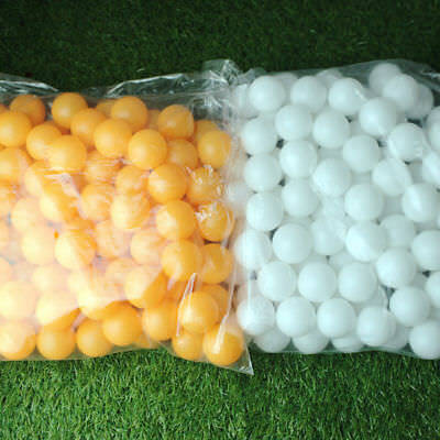 AU11.59 • Buy Ping Pong Balls Durable 100/150PC 40MM Olympic Table Tennis White/Yellow