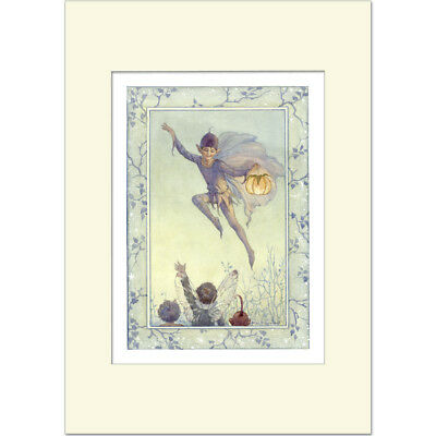 Starlight Fairy - Margaret Tarrant - Medici Mounted Print • 21£