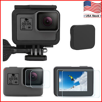 $ CDN11.24 • Buy Frame For GoPro HERO 5/6/7Black Mount Housing Border Protective Shell Case Cover
