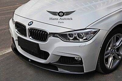 AU549.95 • Buy M-Performance Style Carbon Front Lip M-Sport Bumper FOR BMW 3 Series F30 F31