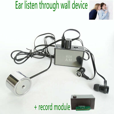 £44.99 • Buy HY929  Bug Digital Voice Record Wall Audio Monitoring Ear Listen Device