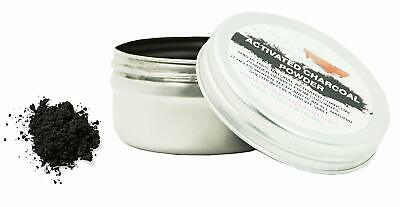 AU6.63 • Buy Activated Charcoal Powder,100% Natural For Teeth Whitening, 1 Tin Of 25g
