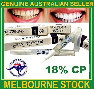 AU12.95 • Buy Teeth Whitening 18%CP Gel Pen Australian Brand Strongest Legal Formula Home Use