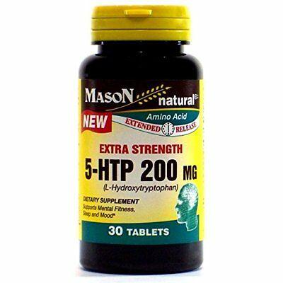 $ CDN53.02 • Buy Mason Natural 5 L-Hydroxytryptophan Tablets, 200 Mg, 30 Count (2 Pack)