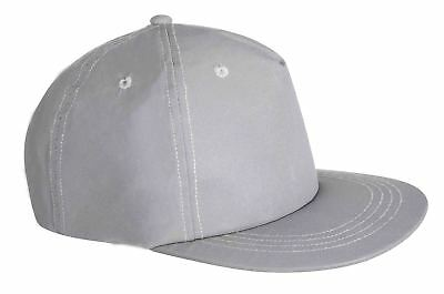 Portwest Reflective Baseball Cap Safety Adjustable Style Work HB11 • 5.29£