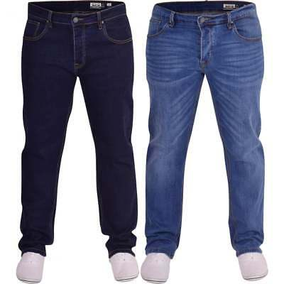 Duck And Cover Mens Original Durable Loose Relaxed Comfort Fit U Denim Jeans • 27.99£