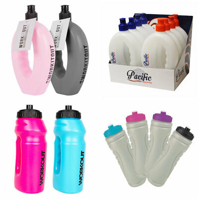 Sports Runners Water Bottle Hand Grip Out Door Hiking Jogging Running Gym • 4.45£