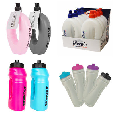 Sports Runners Water Bottle Hand Grip Out Door Hiking Jogging Running Gym • 4.49£