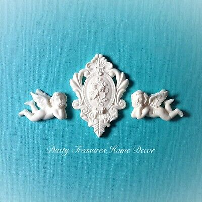 AU12.95 • Buy Shabby Chic French Furniture Moulding Furniture Applique Carving Onlay