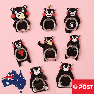AU9.99 • Buy Cute Finger Ring Holder Pop Stand Grip IPhone Phone Socket Bear Cartoon Animal