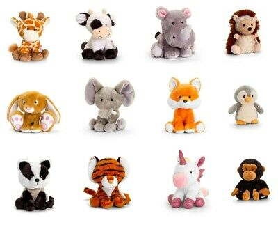 Keel Soft Beanie Toys - Pippins - Unicorn - Panda - Cat- Lion - Brand New • 5£
