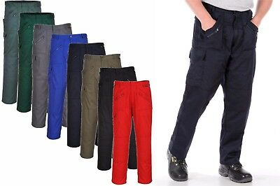 £13.94 • Buy PORTWEST Action Trousers Knee Pad Zip Pockets Cargo Work Safety Reinforced S887