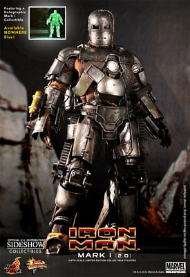 $ CDN2405.27 • Buy Hot Toys 1/6 Iron Man Mark 1 MK I Version 2.0 Exclusive Special Edition MMS168