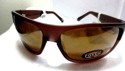 ef58e7453c1b7 Fossil Mirrored Lens Sport Men Sunglasses