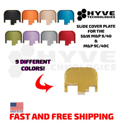 $19.99 • Buy Hyve Technologies Slide Cover Plates For The S&W M&P 9/.40 & 9c/.40c
