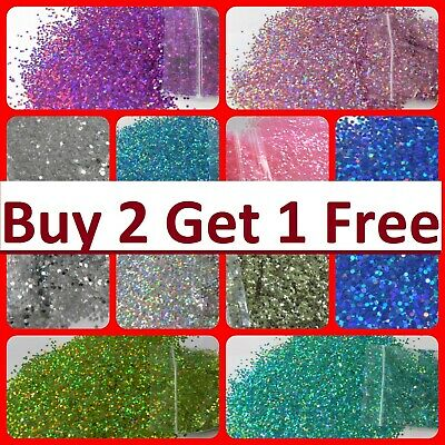 Glitter Cosmetic Chunky Nail Art Eye Festival Body A1 Quality UK Supply Craft  • 1.69£