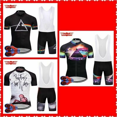 4323b373c PINK FLOYD RETRO Triangle Rainbow Cycling BIKE Jersey Shirt Tricot Maillot  Kit • 39.99